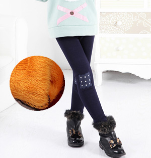 Wholesale kids stretch velvet leggings