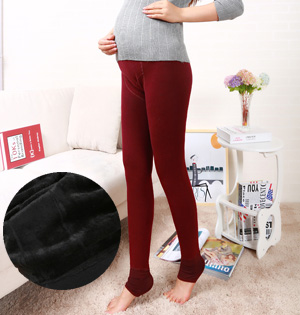 Pregnant women velvet leggings wholesale