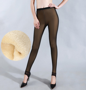 Gauze cashmere leggings wholesale