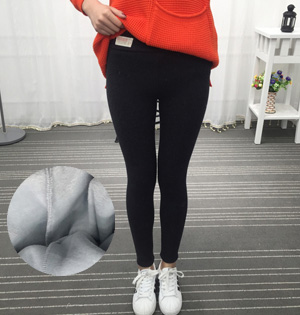 Cotton thick velvet leggings wholesale