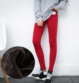 Cotton plus velvet leggings wholesale
