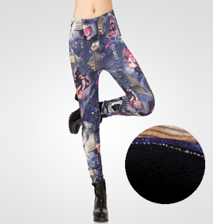 Wholesale velvet leggings for women