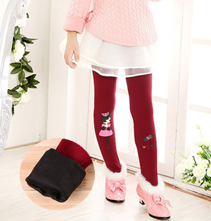 Wholesale kids winter leggings fashion