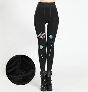 Wholesale thick black leggings