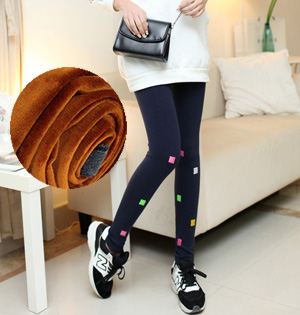Hue cotton velvet leggings wholesale