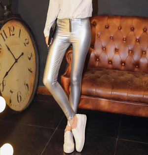Wholesale black leather pants