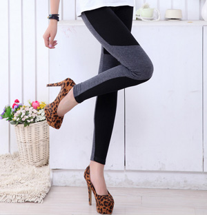 Black cotton leggings wholesale