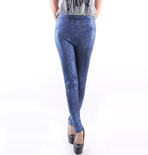 Wholesale stretch leather pants