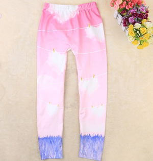 Spring kids leggings wholesale
