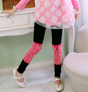 Childrens cotton leggings