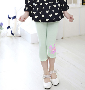 Kids cropped leggings pants