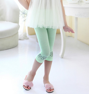 Wholesale kids cropped pants