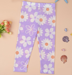 Wholesale kids capri leggings