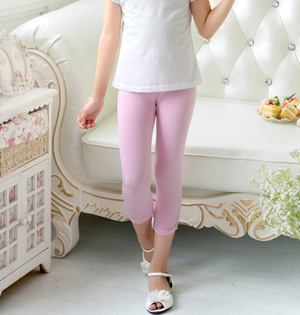 Wholesale girls cropped leggings