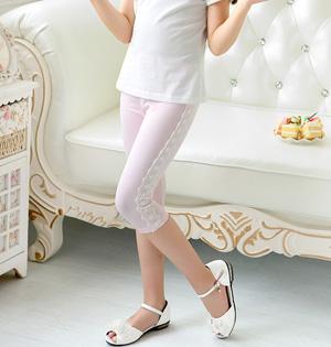 Kids stretch skinny leggings wholesale