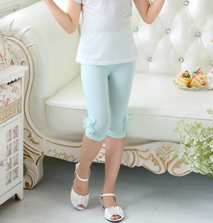 Cotton spandex kids leggings wholesale