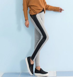 Wholesale womens faux leather leggings