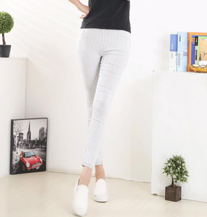 Wholesale womens striped leggings