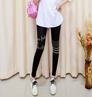 Wholesale women cotton stretch leggings