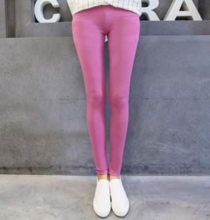Wholesale brushed milk silk leggings