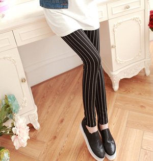 Wholesale striped cotton leggings