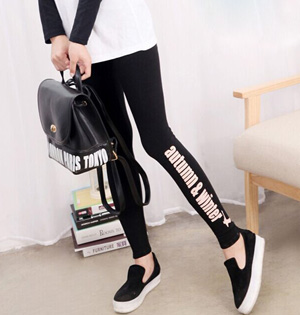 Wholesale women cotton blend leggings