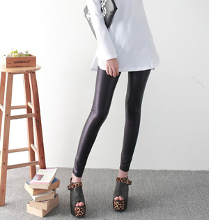 Wholesale faux leather leggings