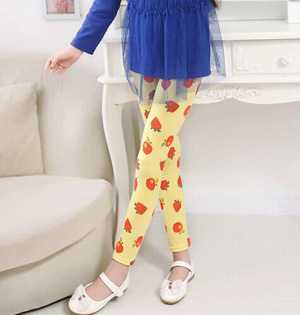 Wholesale kids floral leggings