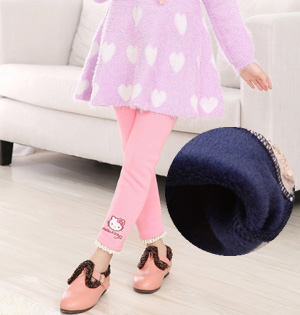 Wholesale kids cashmere leggings