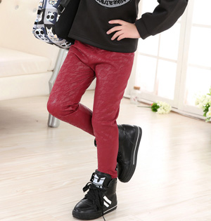 Wholesale kids leather pants