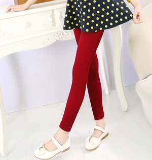 Wholesale cotton kids warm leggings