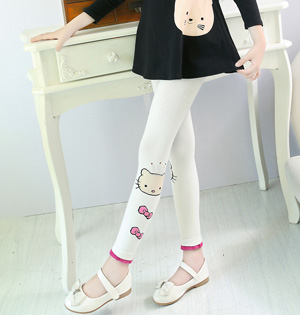 Wholesale kids cotton leggings fashion