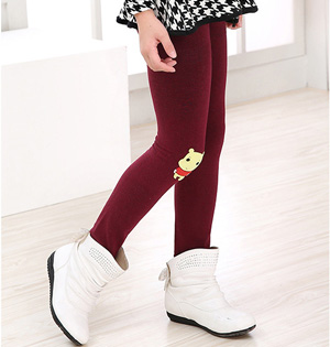 Wholesale kids stretch cotton leggings