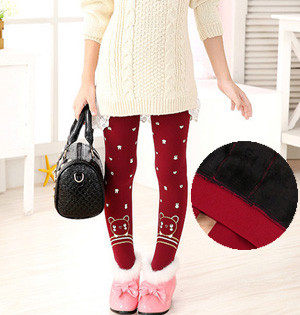 Kids stretch velvet leggings wholesale