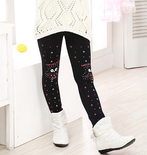 Wholesale kids cotton stretch leggings