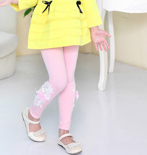 Kids girls modal leggings wholesale