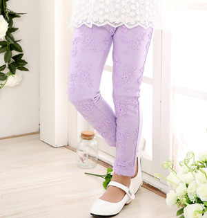 Kids lace leggings wholesale