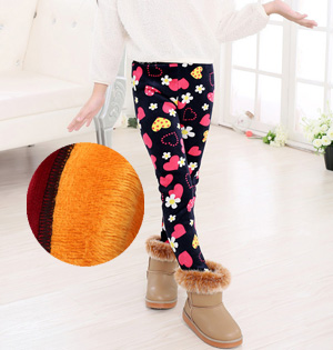 Wholesale kids velvet winter pants