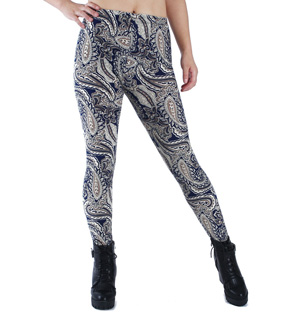 Cashew printed leggings wholesale