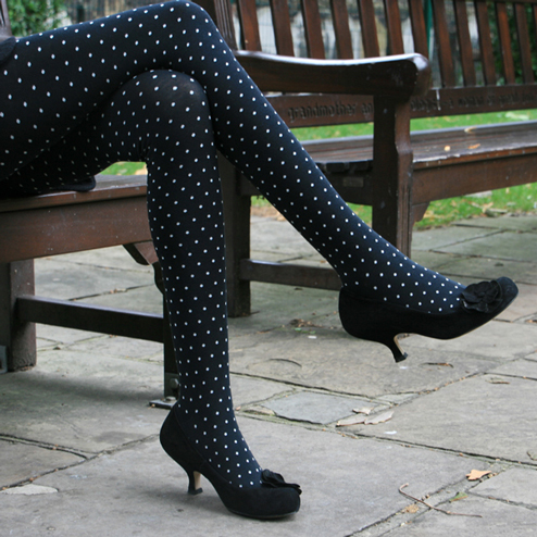 Small dots spring stockings leggings Wholesale