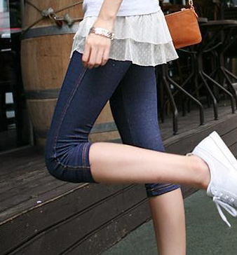 7 points Leggings Fashion Denim Leggings
